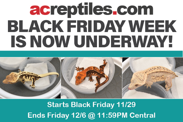 ACR's 16th Annual Black Friday WEEK is LIVE!